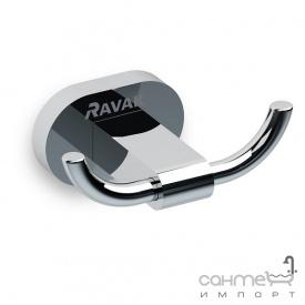Двойной крючок Ravak Chrome CR 100 X07P186