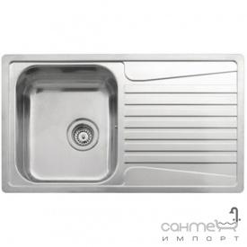Кухонна мийка, виразний стандарнтий монтаж Reginoх Admiral 10 LEFT (лівостороння) Нержавіюча Сталь