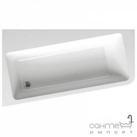 Асимметричная акриловая ванна Ravak 10 Degree 160x95 левосторонняя C831000000 белый