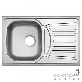 Кухонная мойка Ukinox Comfort COL 780.480 GT 8K декор