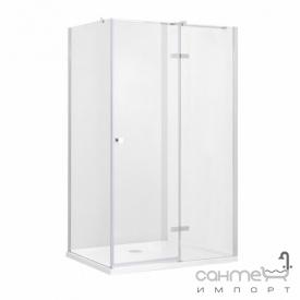 Прямокутна душова кабіна Besco Pixa R 120x80x195 прозоре скло правобічна