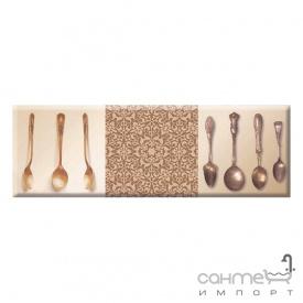 Плитка ABSOLUT KERAMIKA DECOR CUTLERY 03 декор (10х30)