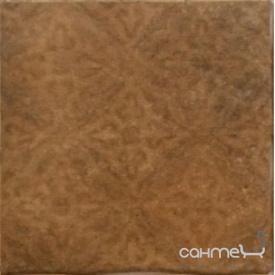 Плитка напольная декор 33.3х33.3 Cerrol Cortona ORNAMENT BROWN (коричневая)