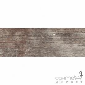 Плитка 9,4х27,5 Colorker Outland Silver коричневая