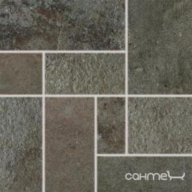 Плитка декор 33,3x33,3 RAKO COMO DDP3B694 коричневый