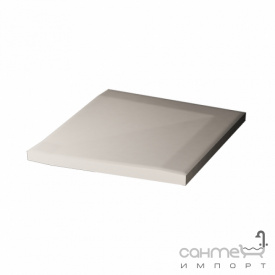 Плитка для душа переходной угловой элемент 10x10 RAKO Taurus Color 10 S Super White Белый TTR 12010