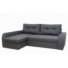 Угловой диван Garnitur.plus Барон темно-серый 250 см (DP-189)
