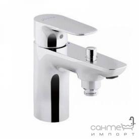 Моноблочний одноважеля змішувач для ванни / душа Jacob Delсafon Aleo Е72284-СР хром