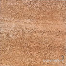 Клинкерная плитка база 33x33 Gres de Aragon Columbia Salmon красная