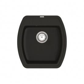 Кухонная Мойка Vankor Norton Nmp 01.48 Black + Сифон Vankor