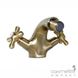 Змішувач бронзовий для біде Welle Amalia 49003T4HO