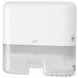 Мини-диспенсер листовых полотенец Singlefold Tork 553100 белый