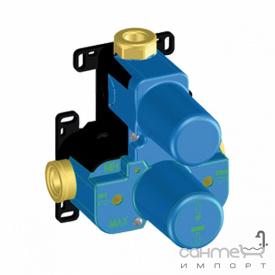 Прихована частина вбудованого змішувача-термостати для душу з дивертором Paini Waterbox 50СС691THWB