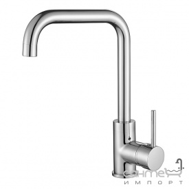 Смеситель для кухни AquaSanita Mirrus 5063-202 алюметаллик