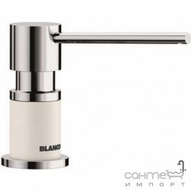 Дозатор жидкого моющего средства Blanco Lato 525814 хром/белый