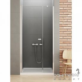 Душевая дверь New Trendy New Soleo Plus 100 D-0139A/D-0094B прозрачное стекло косой стабилизатор