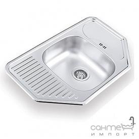 Кухонна мийка Ukinox Comfort 777.488 GW 8K P полірована