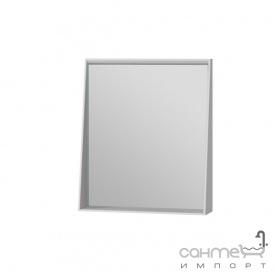Зеркало в ванную комнату Ювента Manhattan 60 с LED подсветкой и выключателем белое