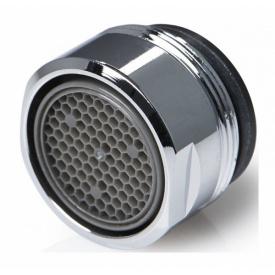 Насадка для смесителя B24 24 мм Н хром с функцией экономии воды до 3,8л/м