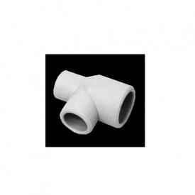 Трійник редукційний PP-R 25x20x20 мм білий