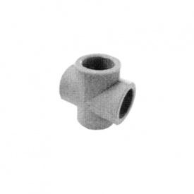 Хрестовина PP-R 25 мм біла