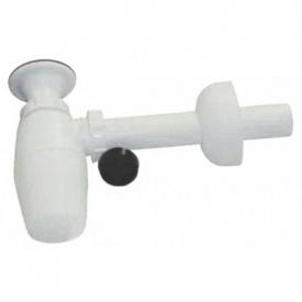 Сифон для умыв бутылочный VIEGA 1,1/4x32 мм (пласт с вентилем)