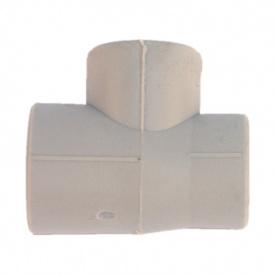 Трійник редукційний PP-R 32x25x20 мм сірий