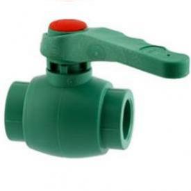Кран шаровый PP-R 75 мм зеленый