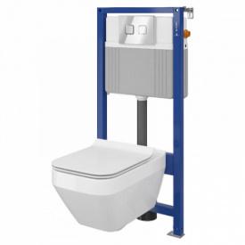 Сет b210 інсталяція aqua 52 qf унітаз crea cleanon сидіння crea slim дюропластове з плавним закрити