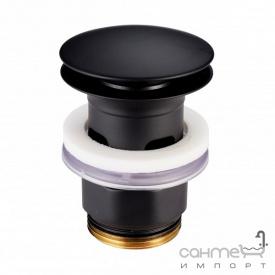 Донный клапан Devit Art 13140B матовый черный