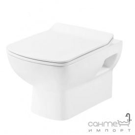 Подвесной унитаз с сидением slim softclose Devit Comfort 3120123 белый глянцевый