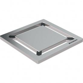 Дизайнерская решетка для трапа Geberit Square 8 x 8 см 154.312.00.1