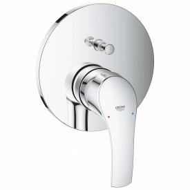 Eurosmart смеситель для ванны СМ однорычажный с переключателем на 2 положения GROHE 24043002