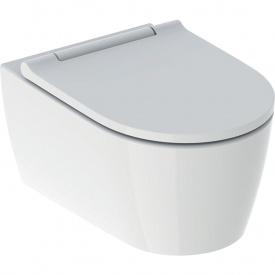 Подвесной унитаз Geberit ONE TurboFlush белая декоративная панель 500.201.01.1