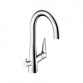 Talis S Смеситель для кухни 220 однорычажный с запорным вентилем для посудомоечной машины хром HANSGROHE 72811000