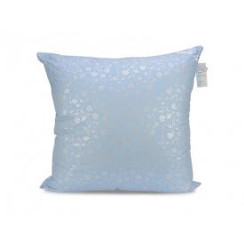 Подушка Leleka-Textile Лебяжий Пух 70x70 Чехол Голубые Цветочки