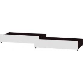 Ящик выдвижной для Кровать Эверест Соната-800 (к-кт) венге+белый