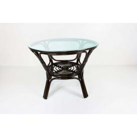 Обеденный стол Келек CRUZO натуральный ротанг темно-коричневый (kl0300)