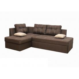 Угловой диван Garnitur.plus Сангри Коричневый 225 см