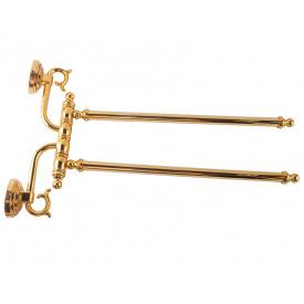 Полотенцедержатель KUGU Versace 242G Золото (3515)