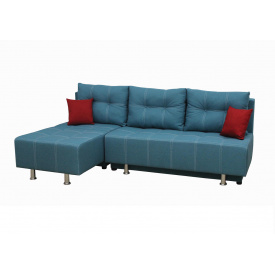 Угловой диван Garnitur.plus Каприз Аквамарин 220 см