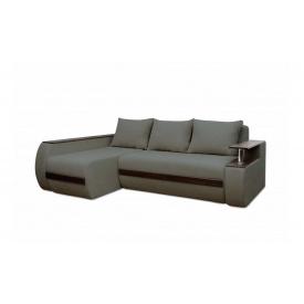 Угловой ортопедический диван Garnitur.plus Граф Графитовый 245 см