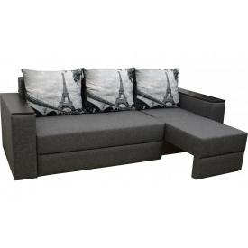 Угловой диван Garnitur.plus Смарт Париж Серый 255 см