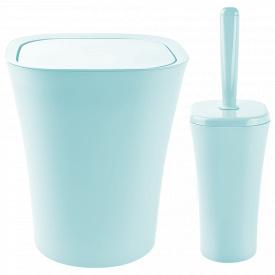 Набір для ванної кімнати PLANET PAPILLON 2 предмета Сіро-Голубий