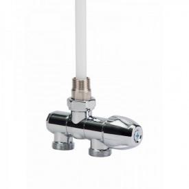 Вентиль для полотенцесушителя Icma 968 серии Yoga 1/2-3/4