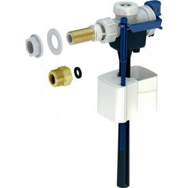 Впускной клапан Geberit тип 333 подвод воды сбоку 3/8 и 1/2 ниппель из латуни 136.724.00.3