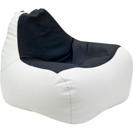 Кресло-мешок Примтекс плюс Simba H-2200/D-5 М White-Black