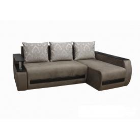 Угловой диван Garnitur.plus Граф Бежевый 255 см