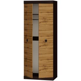Шкаф распашной 2-х дверный Эверест Соната-800 венге + аппалачи