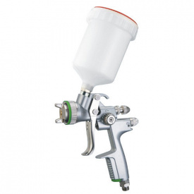 Пневмопистолет лакокрасочный HVLP ВП бачок 600мл, 1,4мм ITALCO H-1001A-1.4